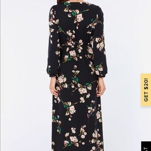Lulu's Dresses - Lulu's Navy Floral Maxi